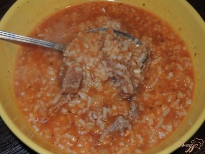 Суп с соусом ткемали рецепт