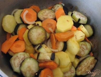 Картошка с овощами пошаговый рецепт с