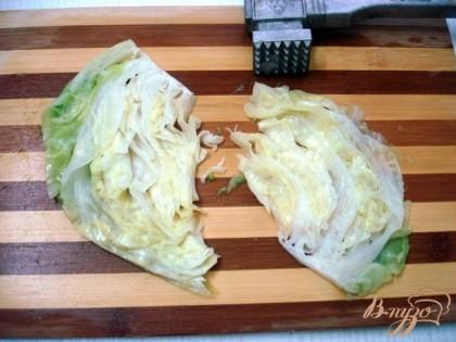 Отбивные из капусты рецепт с фото