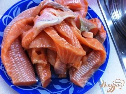 Слабосоленый лосось рецепт с фото