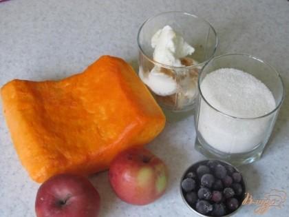 Десерт из тыквы пошаговый рецепт с фото