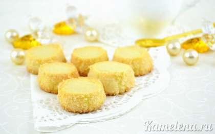Готовое печенье полностью остудить, подавать к чаю или кофе.