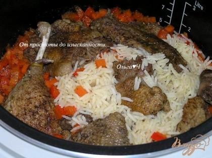 Рис в мультиварке с уткой рецепты