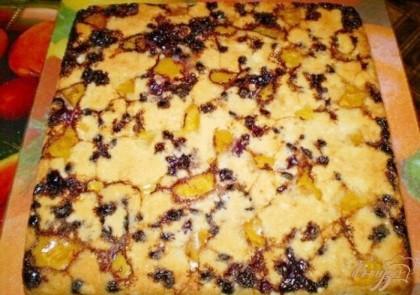 шарлотка смородины рецепт фото