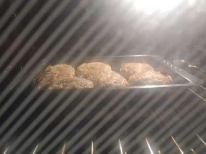 Поставить в духовку на 30 минут
