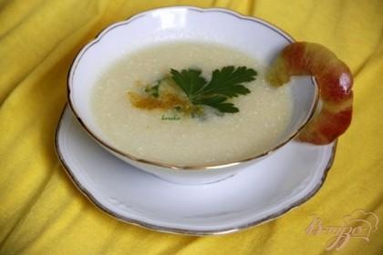 Готово! Зелень кориандра подчёркнёт восточную нотку супа.приятного аппетита!