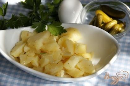 Готово! Этот салат заменит гарнир или послужит сытной закуской на пикнике.Приятного аппетита!