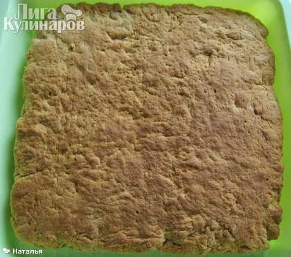 Протыкаем сухой деревянной палочкой, если  палочка остается сухой, то основа для печенья готова.