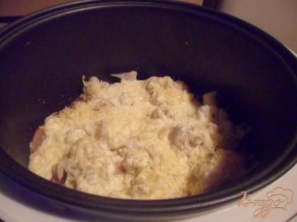 Филе куриное с цветной капустой в мультиварке рецепты