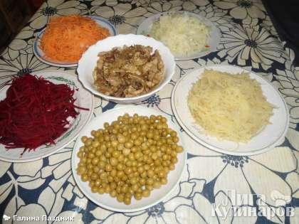 Рецепт салата классический чафан рецепт с пошагово