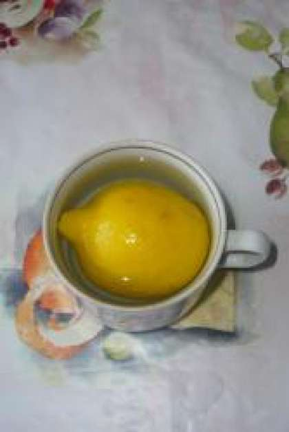 Компот из лимона рецепт с фото