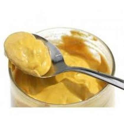 Переложить приправу в стеклянную баночку и закрыть плотно крышкой. Теперь убрать горчицу в темное место на сутки. Хранить в закрытой банке в холодильнике.