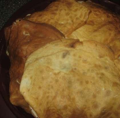 Блинный пирог с капустой рецепт 43