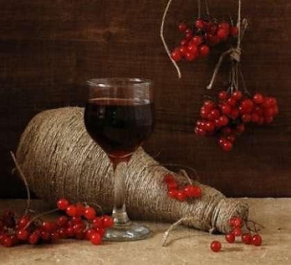 Как только домашнее вино из калины перестанет играть, и вы не будете видеть пузырьков в банке с водой, его нужно будет слить, не взбалтывая, осадка. Приготовьте затем сухую тару для вина и слейте вино в нее. Храните вино из калины в сухом и прохладном месте. Чем дольше вы его храните, тем лучше становиться его вкус. Теперь вы знаете   рецепт РІРёРЅР° РёР· калины (рецепт СЃ фото).