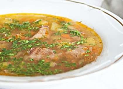 классический рецепт суп шурпа из говядины рецепт
