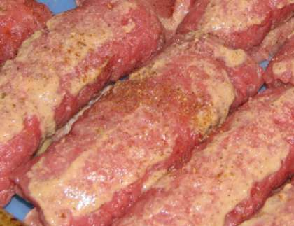 Отбивная из говядины в фольге в духовке рецепт