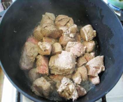 плов из телятины рецепт с фото