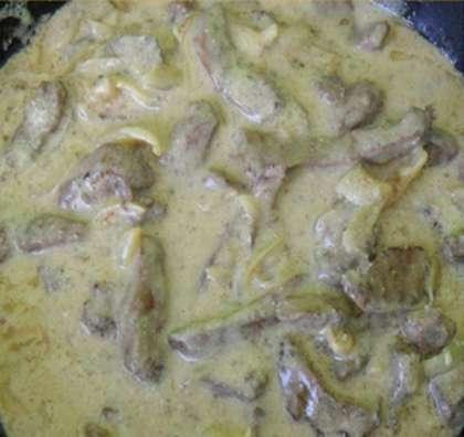 Бифстроганы из свинины со сметаной рецепты