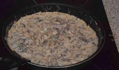 Бефстроганов рецепт из свинины со сливками рецепт