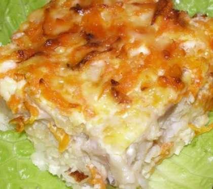 Минтай с сыром в мультиварке рецепты с фото