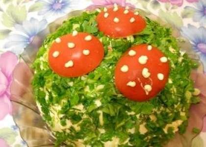Салат лесной рецепт с фото пошагово