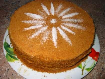 Торт рыжик, рецепт с фото
