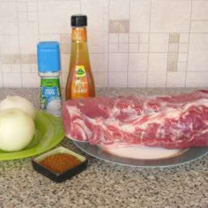 маринад для шашлыка из свинины с яблочным уксусом это
