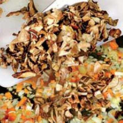 икра из сушеных грибов рецепт с фото