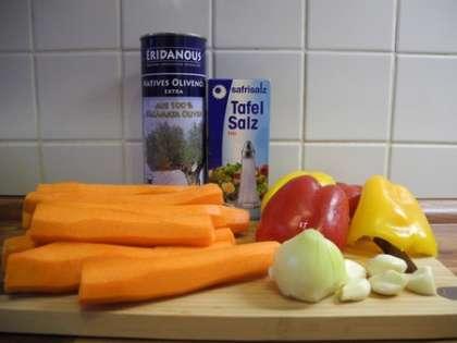 Для приготовления закуски нам понадобится: