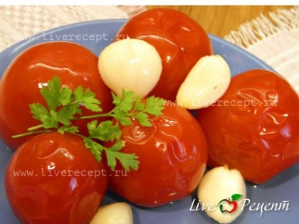 Соленые помидоры пошаговый рецепт с картинками