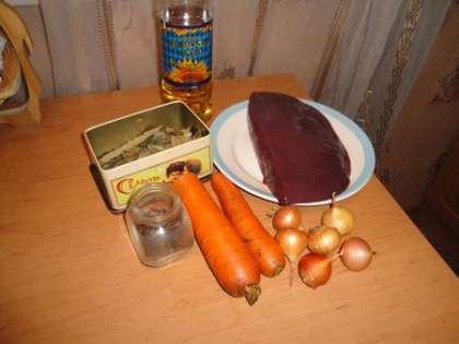 Для приготовления паштета нам понадобится: