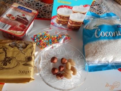 Конфеты готовятся быстро и получаются даже лучше магазинных. Шоколад нужно использовать с высоким содержанием какао, а посыпку - разную.