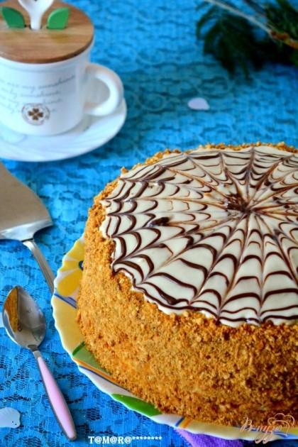 Кулинария.рецепты.торт рыжик с фото