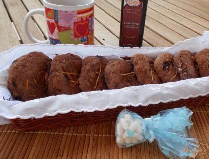 Готово! Готовое печенье оставляем на противне до полного остывания и затем подаем к чаю. Приятного аппетита!