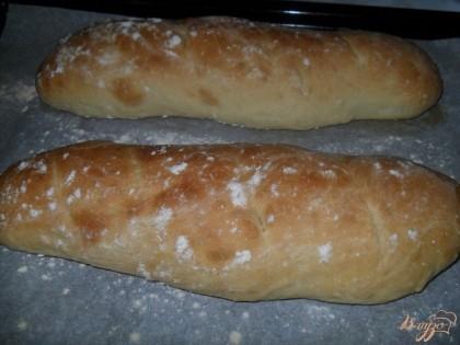 Готово! Выпекать хлеб в разогретой духовке, при температуре 200 градусов на минут 25. проверяем готовность деревянной лучиной.