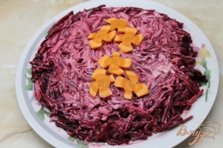 Салат из печени свинины фото