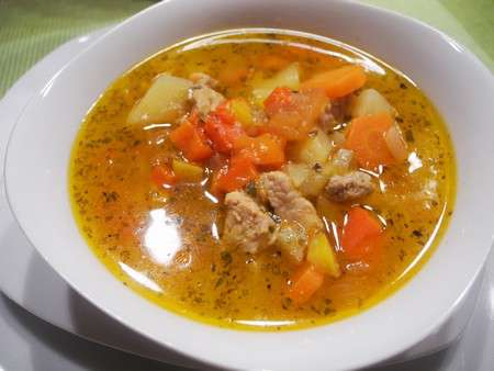 Гуляш суп по-венгерски