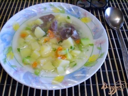 Суп с пупками рецепт с фото