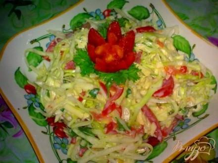 Фото рецепт пошаговый салат из сыра