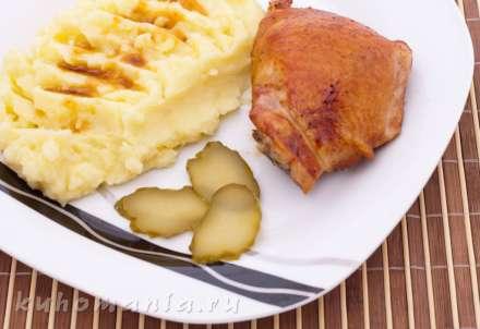 Куриные бедрышки в меду