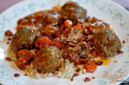 Рецепты говяжьих фрикаделек фото