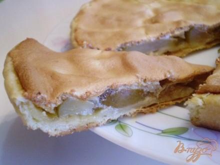 песочный пирог с грушей рецепт с фото