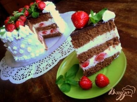 Торт бисквитный фото детские