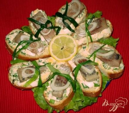 Бутерброды пошаговый рецепт с фото
