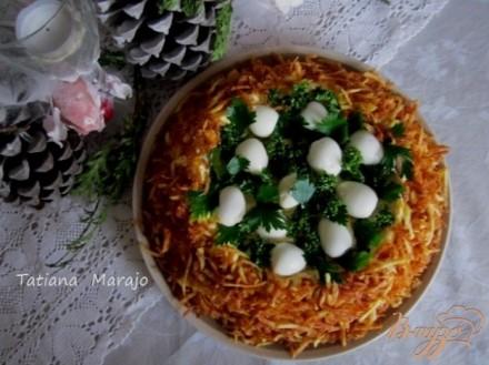 Салат осиное гнездо рецепт с фото