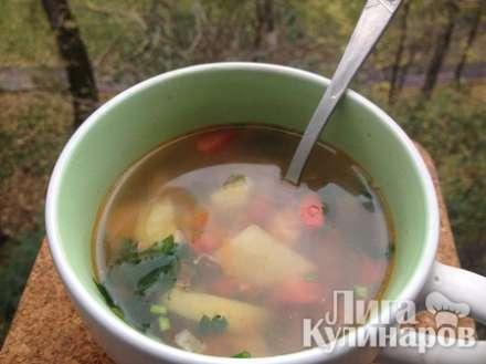 Фасолевый суп (с индейкой)
