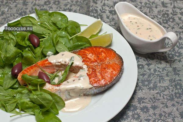 Сливочный соус к рыбе рецепт пошаговый
