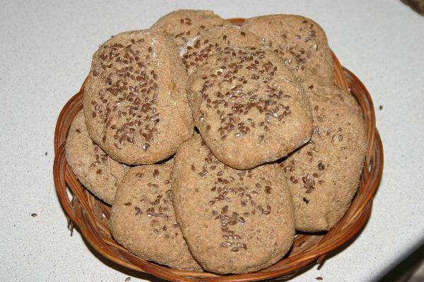 Цельнозерновые булочки