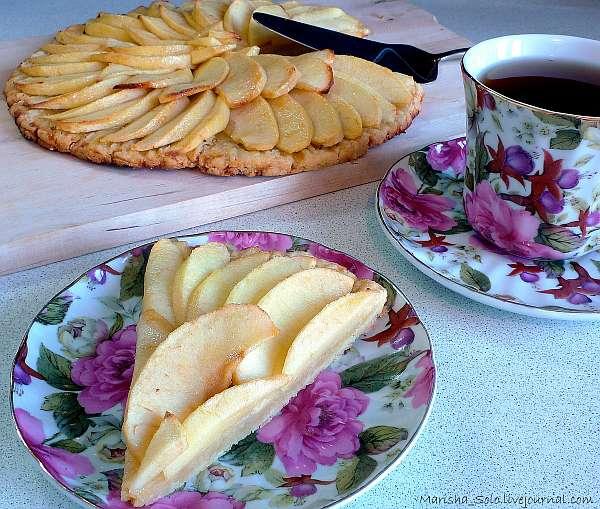 Яблочный пирог маман Бланк