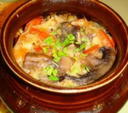 Овощное рагу баклажаны в горшочках рецепт